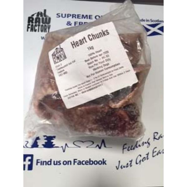 Beef Heart Chunks